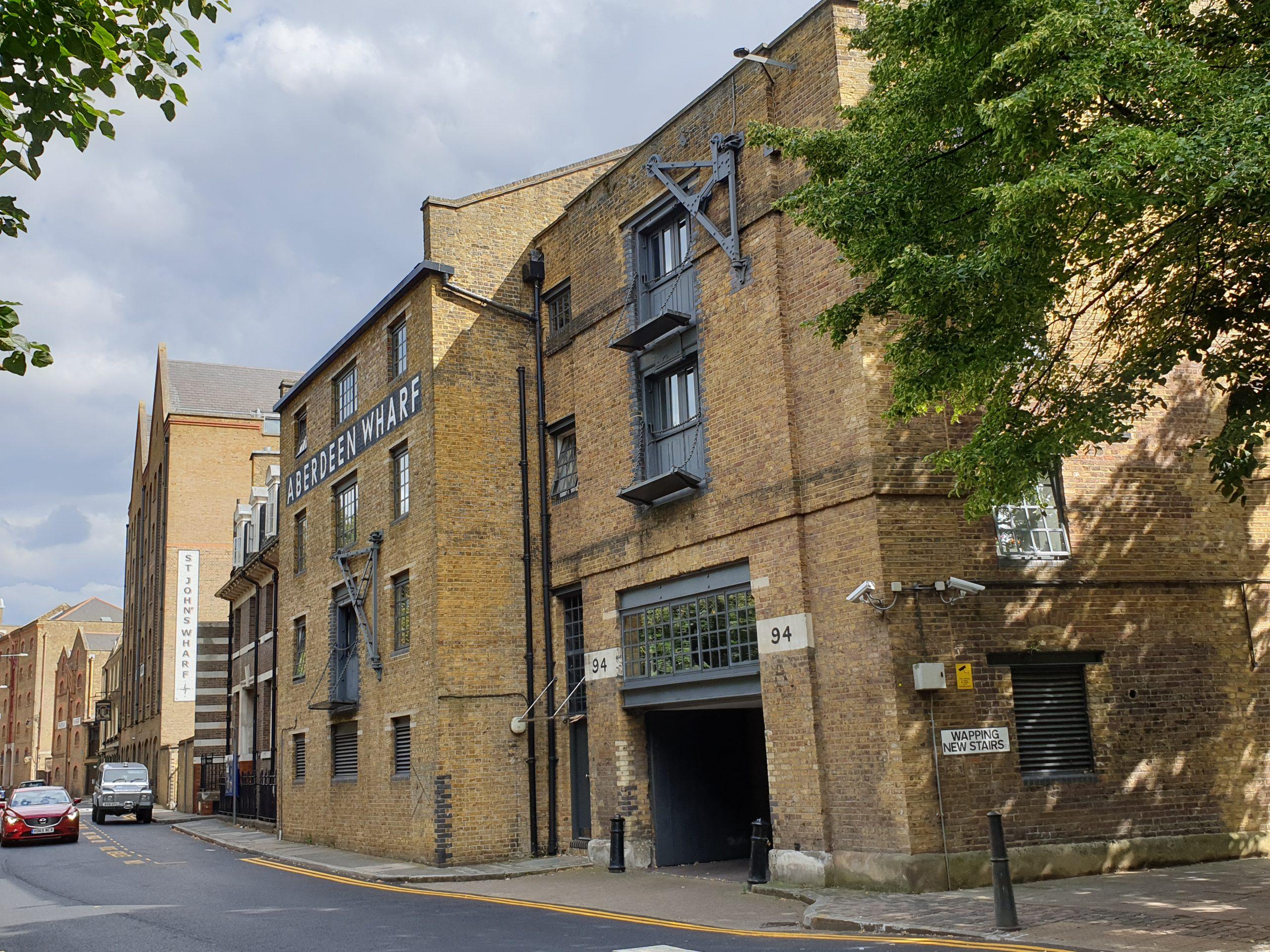 Aberdeen Wharf, Wapping, London
