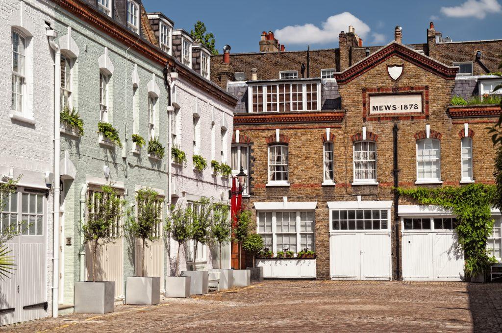 Mews houses in Chelsea, London