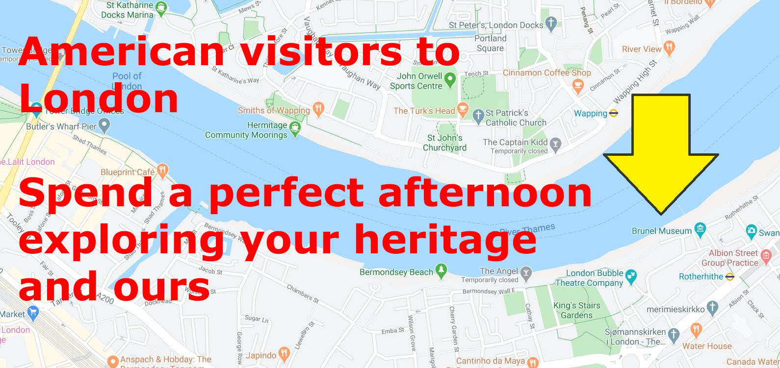 A trip to Rotherhithe